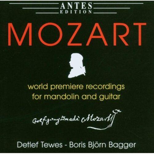 Bagger, Boris Björn & Tewes, Detlef - Mozart-Musik für Mandoline und Gitarre - Preis vom 28.02.2021 06:03:40 h