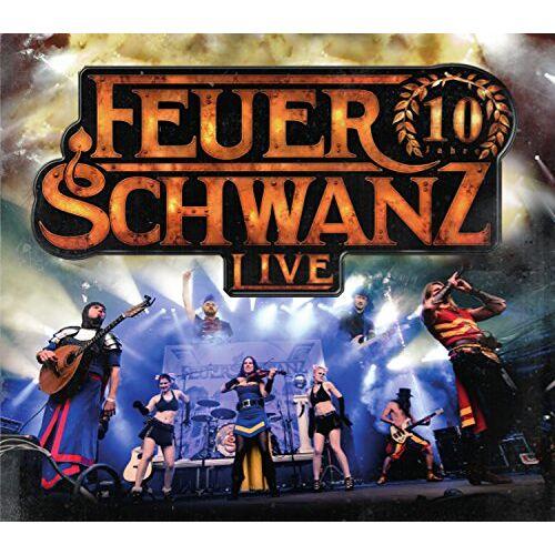 Feuerschwanz - 10 Jahre Feuerschwanz Live - Preis vom 28.02.2021 06:03:40 h