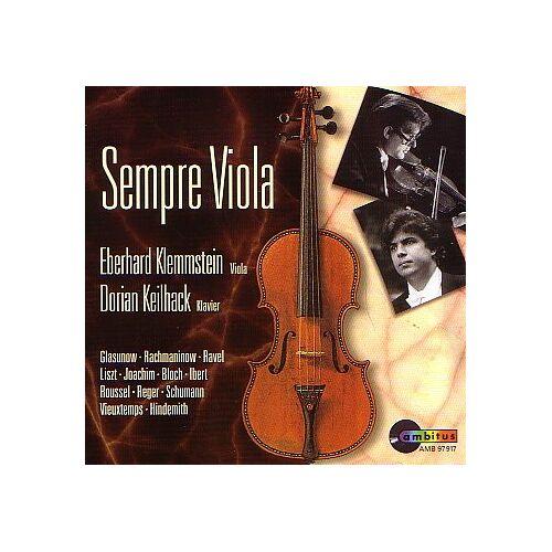 Klemmstein - Sempre Viola - Preis vom 20.10.2020 04:55:35 h