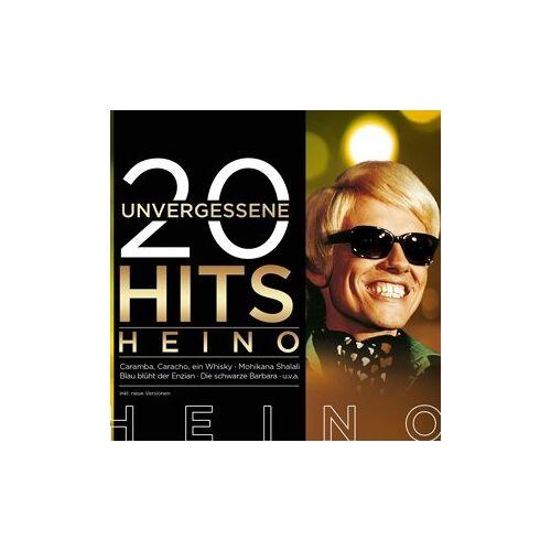 Heino - 20 unvergessene Hits - Preis vom 20.10.2020 04:55:35 h