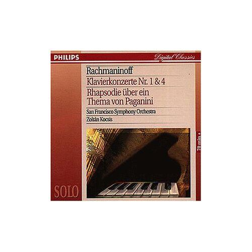 Z. Kocsis - Klavierkon.1+4/Paganini-Rhaps. - Preis vom 22.01.2021 05:57:24 h