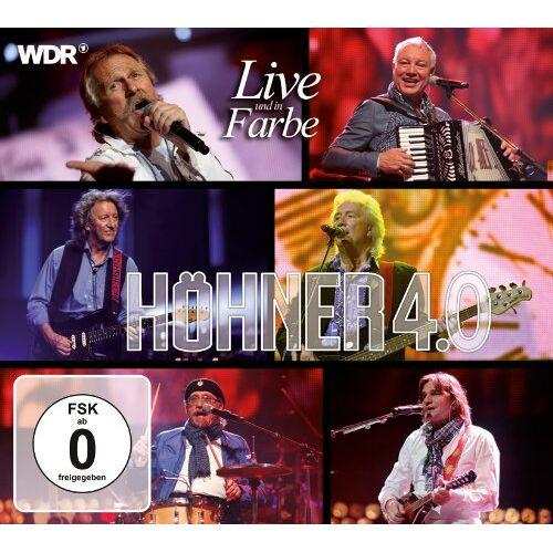 Höhner - Höhner 4.0 Live Und in Farbe - Preis vom 22.02.2021 05:57:04 h
