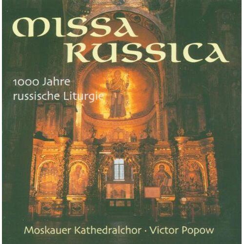 Moskauer Kathedralchor - Missa Russica - Preis vom 17.04.2021 04:51:59 h