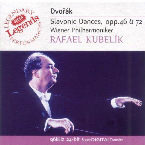 Kubelik - Slawische Tänze Op.46+72 - Preis vom 20.10.2020 04:55:35 h