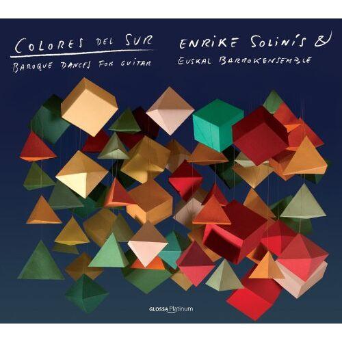 Enrike Solinis - Colores Del Sur-Barocke Tänze für Gitarre - Preis vom 20.10.2020 04:55:35 h