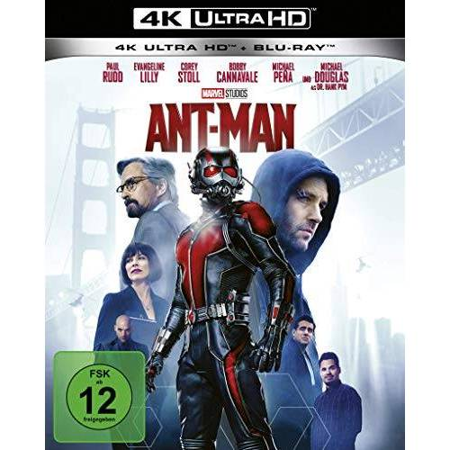 Peyton Reed - Ant-Man 4K Uktra HD (+ Blu-ray) - Preis vom 19.10.2020 04:51:53 h