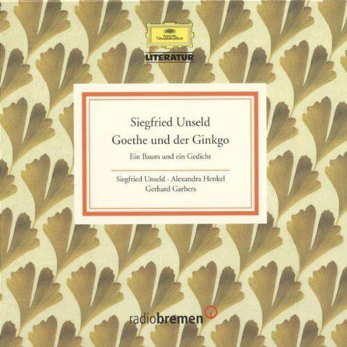 Siegfried Unseld - Goethe und der Ginkgo - Preis vom 06.04.2021 04:49:59 h