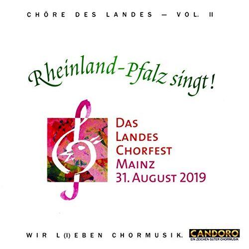 Chöre aus Rheinland-Pfalz-Mixed Tape - Rheinland Pfalz Singt!-Chöre des Landes-Vol.1 - Preis vom 05.09.2020 04:49:05 h