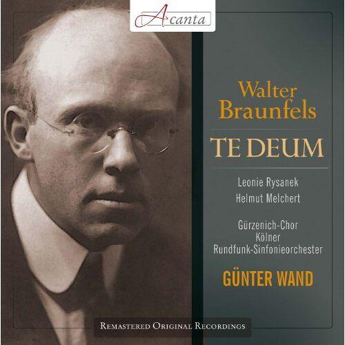 Günter Wand - Walter Braunfels: Te Deum - Preis vom 21.04.2021 04:48:01 h