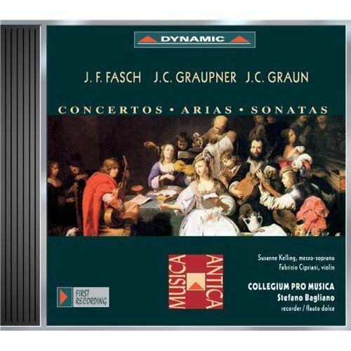 Bagliano - Konzerte, Arien und Sonaten von Fasch, Graupner und Graun - Preis vom 11.05.2021 04:49:30 h