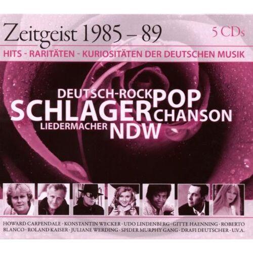 Various - Zeitgeist 85-89 - Preis vom 20.10.2020 04:55:35 h