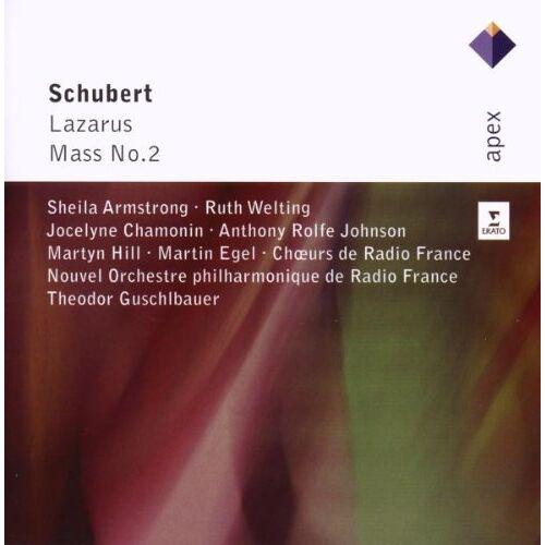 Theodor Guschlbauer - Lazarus d 689/Mass 2 in G Major d 167 - Preis vom 27.01.2021 06:07:18 h