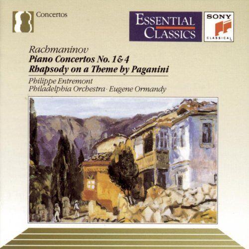 S. Rachmaninoff - Rachmaninov: Piano Concertos Nos. 1 & 4; Rhapsody on a Theme by Paganini - Preis vom 20.10.2020 04:55:35 h