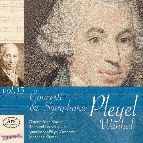 Dianne Baar - Vanhal + Pleyel: Konzertraritäten aus dem Pleyel-Museum Vol.13 - Preis vom 25.01.2021 05:57:21 h