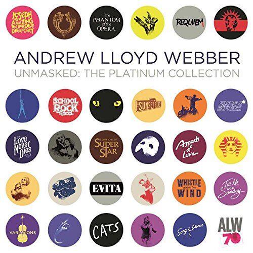 Webber, Andrew Lloyd - Unmasked-the Platinum Collection - Preis vom 13.05.2021 04:51:36 h
