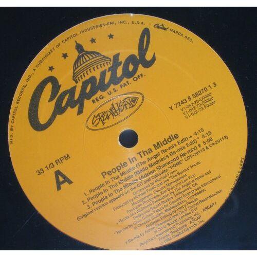 Spearhead - People in Tha Middle [Vinyl LP] - Preis vom 25.02.2021 06:08:03 h