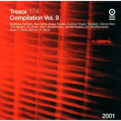 Various - Tresor Vol.9 - Preis vom 22.01.2020 06:01:29 h