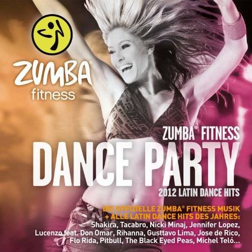 Various - Zumba Fitness Dance Party 2012 - Die offizielle Zumba Fitness Musik - Preis vom 18.11.2019 05:56:55 h