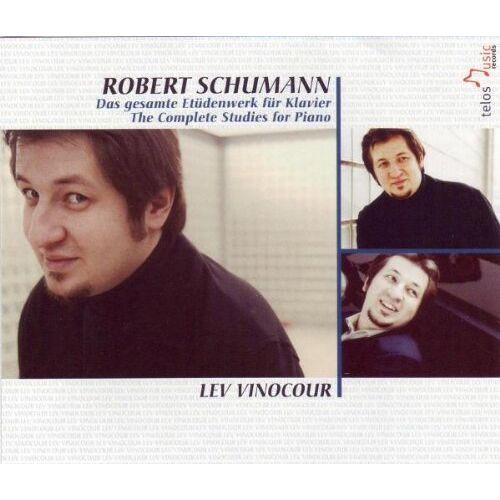 Lev Vinocour - Das Gesamte Etüdenwerk für Klavier - Preis vom 20.10.2020 04:55:35 h