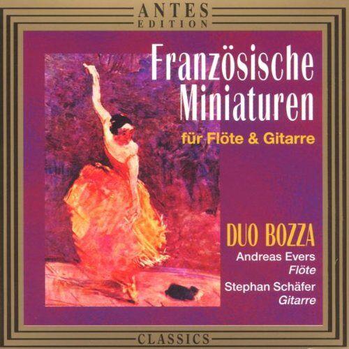 Duo Bozza - Französische Miniaturen für Flöte und Gitarre - Preis vom 20.10.2020 04:55:35 h