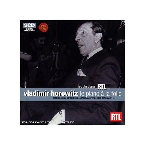 Vladimir Horowitz - Horowitz - le Piano en Folie - Preis vom 24.02.2021 06:00:20 h