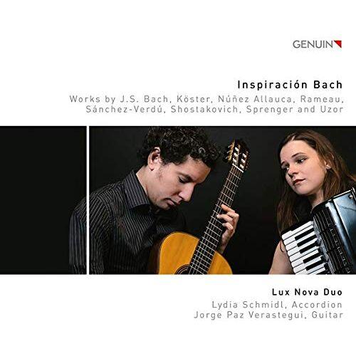 Lux Nova Duo - Inspiraciíon Bach - Werke für Akkordeon und Gitarre - Preis vom 28.02.2021 06:03:40 h