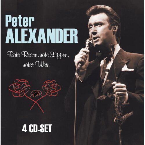 Peter Alexander - Rote Rosen, rote Lippen, roter Wein - Preis vom 22.01.2021 05:57:24 h