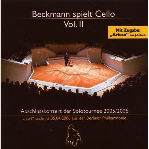 Thomas Beckmann - Beckmann Spielt Cello Vol.2 - Preis vom 16.01.2020 05:56:39 h