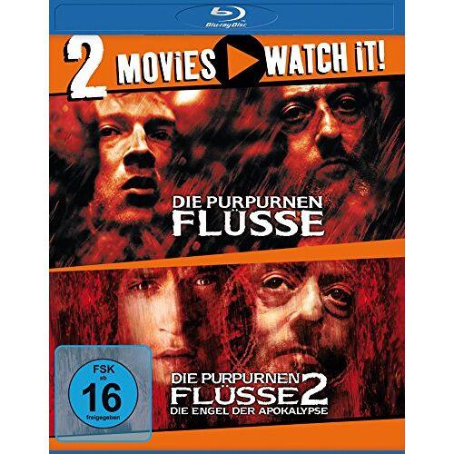 Jean Reno - Die Purpurnen Flüsse 1 & 2 [Blu-ray] - Preis vom 21.04.2021 04:48:01 h