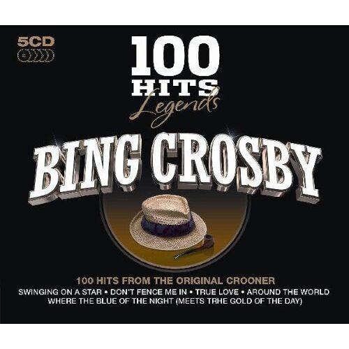 Bing Crosby - 100 Hits Legends-Bing Crosby - Preis vom 21.01.2021 06:07:38 h