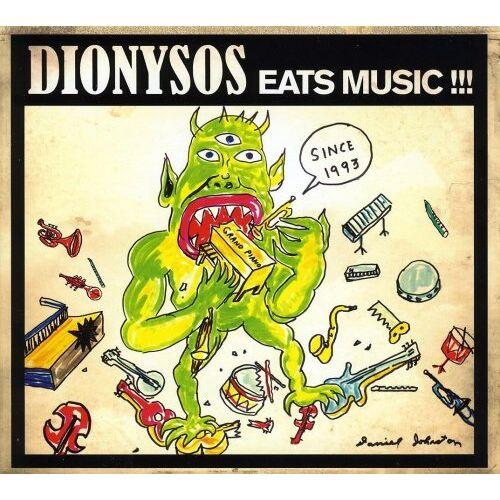 Dionysos - Eats Music - Preis vom 20.10.2020 04:55:35 h