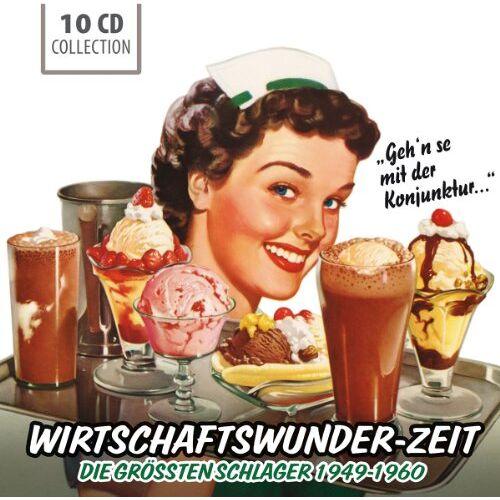 Paul Kuhn - Wirtschaftswunder-Zeit (Größte Schlager 1949-60) - Preis vom 10.05.2021 04:48:42 h