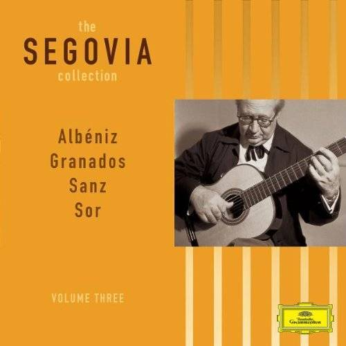 Andres Segovia - Segovia Collection,the/Vol.3 Werke Gitarre Solo 2 - Preis vom 20.10.2020 04:55:35 h