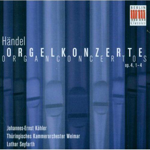 J.E. Köhler - Orgelkonzerte Op.4,1-4 - Preis vom 07.05.2021 04:52:30 h