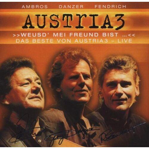 Austria 3 - Weusd' mei Freund bist... Das Beste von Austria 3 - live - Preis vom 16.04.2021 04:54:32 h