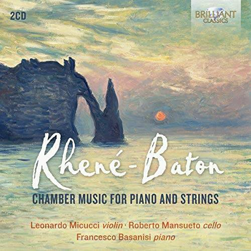 Wolferl Trio - Rhene-Baton:Chamber Music for Piano and Strings - Preis vom 18.10.2020 04:52:00 h