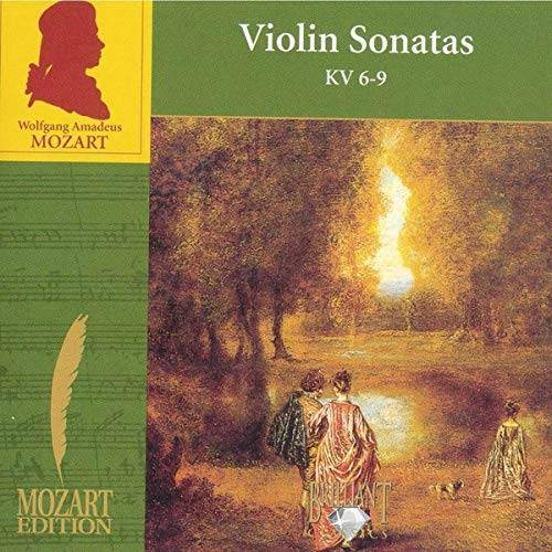 Mozart - Violin Sonatas KV 6-9 - Preis vom 28.02.2021 06:03:40 h