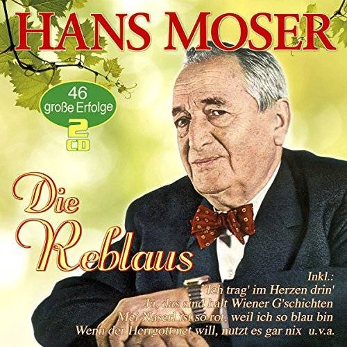 Hans Moser - Die Reblaus - 46 große Erfolge - Preis vom 20.10.2020 04:55:35 h