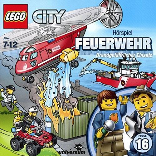 Lego City - Lego City 16: Feuerwehr (CD) - Preis vom 08.04.2020 04:59:40 h