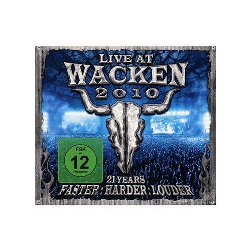 Various - Wacken 2010-Live at Wacken Open Air Incl.Bluray - Preis vom 20.10.2020 04:55:35 h