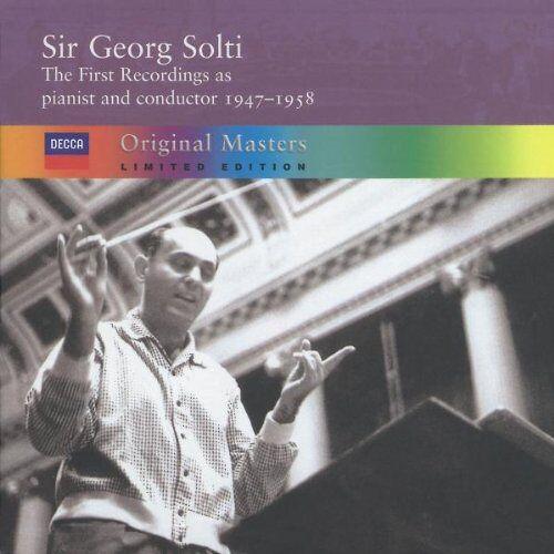 Georg Solti - Solti's First Recordings - Preis vom 20.10.2020 04:55:35 h