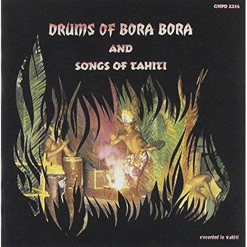 Drums of Bora Bora - Drums of Bora Bora & Songs of - Preis vom 25.01.2021 05:57:21 h