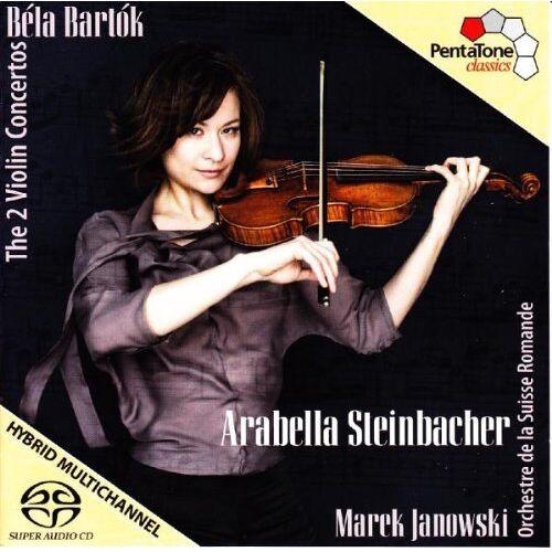 a. Steinbacher - Violinkonzerte 1+2 - Preis vom 16.01.2021 06:04:45 h