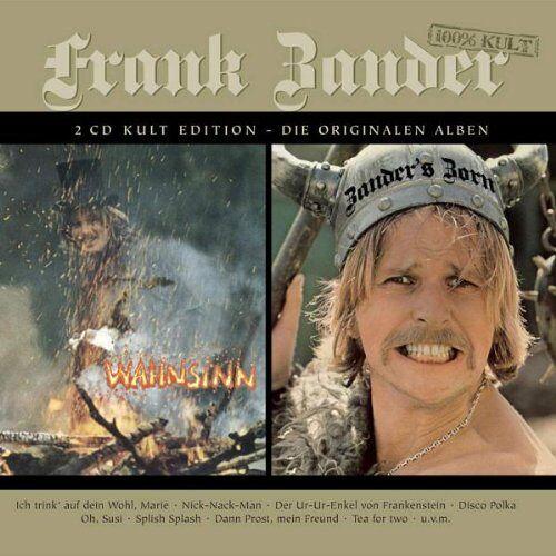 Frank Zander - Wahnsinn/Zander'S Zorn - Preis vom 25.01.2020 05:58:48 h