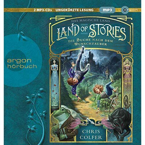 Chris Colfer - Land of Stories – Das magische Land - Die Suche nach dem Wunschzauber (The Land of Stories) - Preis vom 08.05.2021 04:52:27 h