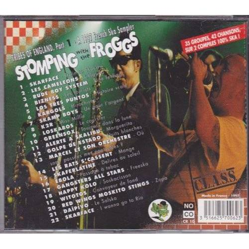 Various - Stomping with the froggs, Vol. 1 - Preis vom 20.01.2021 06:06:08 h