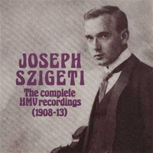 Joseph Szigeti - J.Szigeti/Aufn.1908-1913 - Preis vom 18.04.2021 04:52:10 h