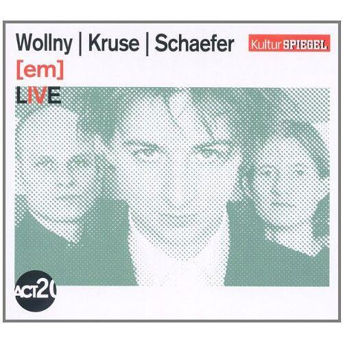 Wollny - [Em] Live (Kulturspiegel-Edition) - Preis vom 19.10.2020 04:51:53 h