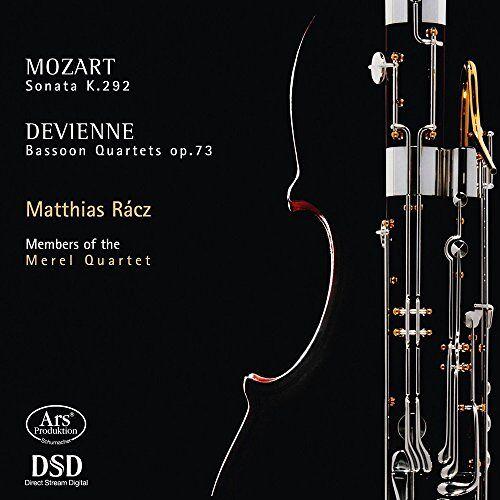 Matthias Racz (Fagott) - Mozart/Devienne: Sonate für Fagott und Cello / Fagottquartette - Preis vom 24.02.2021 06:00:20 h