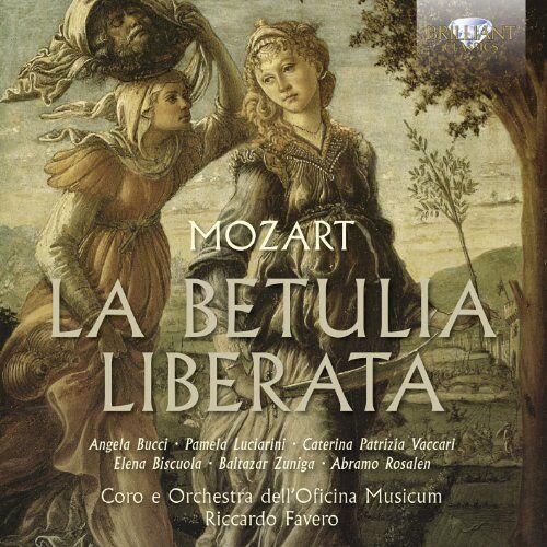 Favero - Mozart: La Betulia Liberata - Preis vom 21.01.2021 06:07:38 h
